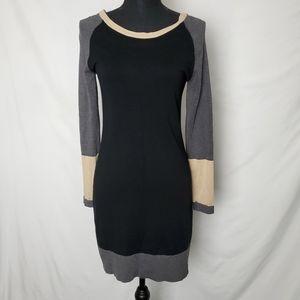 Colorblock Sweater Dress by Tart Size Medium